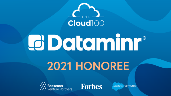 Dataminr Named to the 2021 Forbes Cloud 100