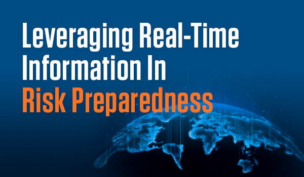 Risk In Real Time: Corporations Lack Confidence And Are Improvising Risk Preparedness