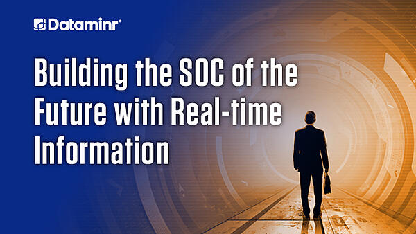 On-Demand Webinar: Building the SOC of the Future