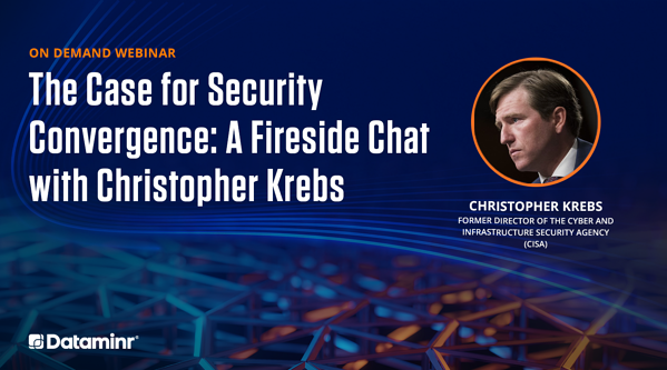 The Case for Security Convergence: A Fireside Chat with Christopher Krebs