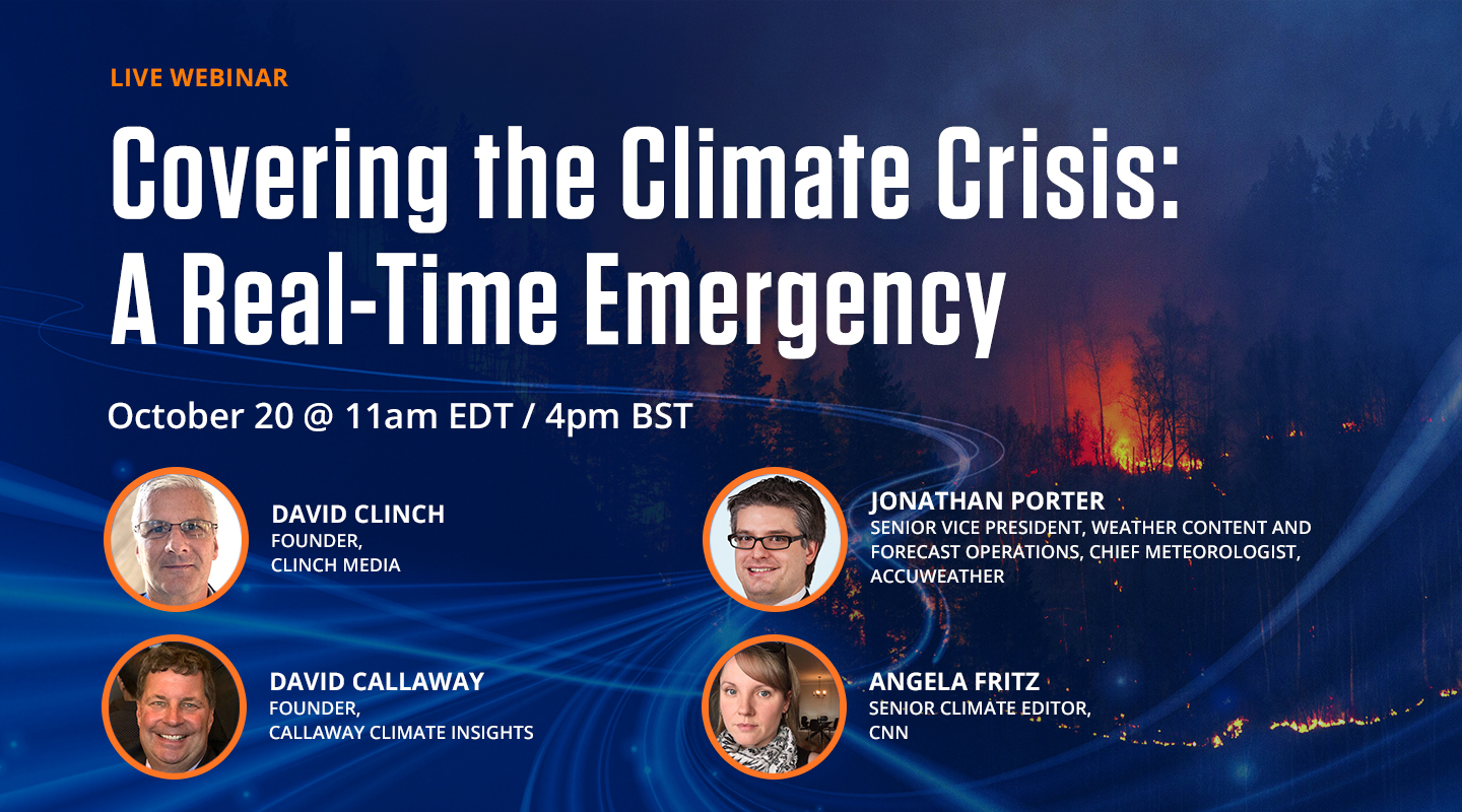 Covering the Climate Crisis: A Real-time Emergency