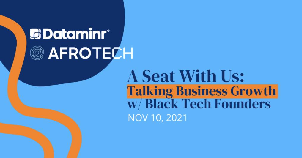 Dataminr at Afrotech 2021