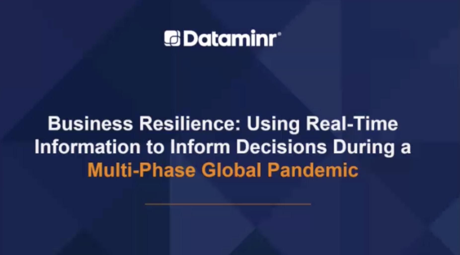 Thumbnail - business resilience covid19 webinar